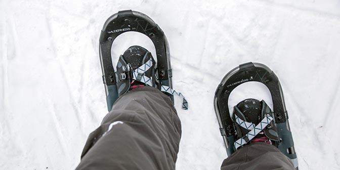 sneeuwschoen luosto finland