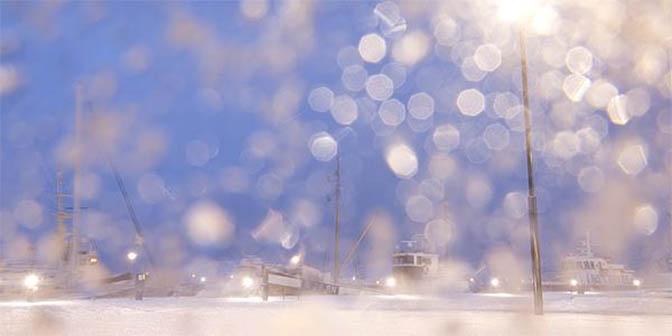 fotografgie sneeuw lens