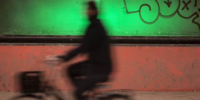 beweging fietser fotograferen