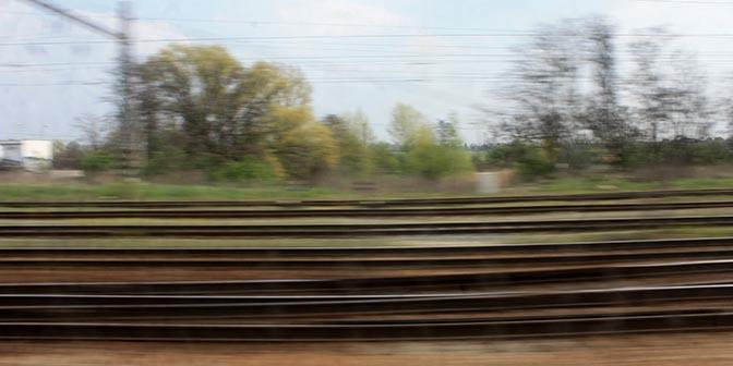 beweging trein
