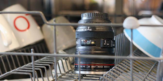 schoonmaken lens camera
