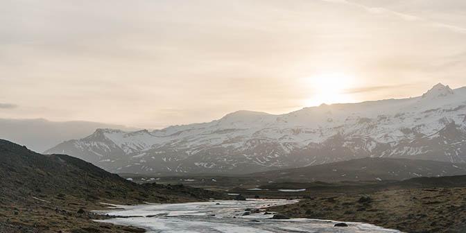 contrast sneeuw