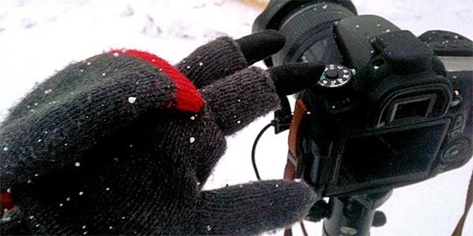 fotografie handschoen winter