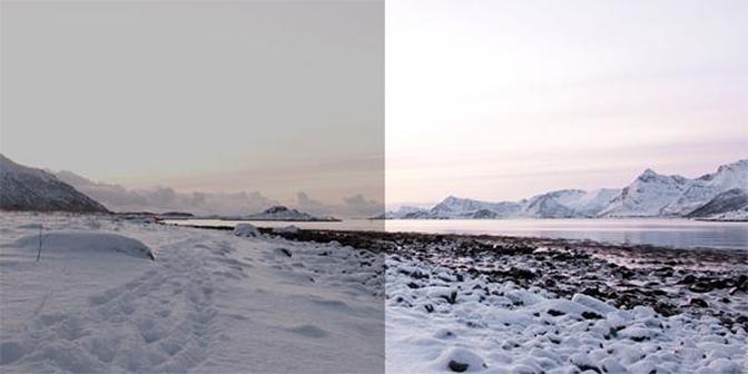fotograferen met sneeuw overbelicht