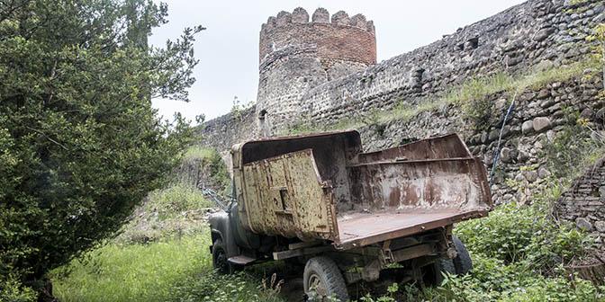 stadsmuren sighnaghi georgie