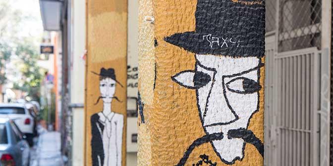 street art athene griekenland