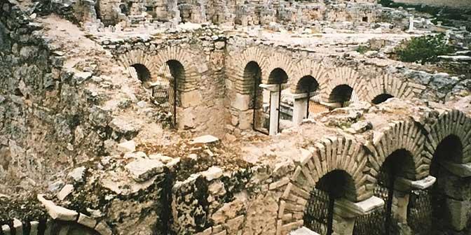 agora Archaia Korinthos griekenland