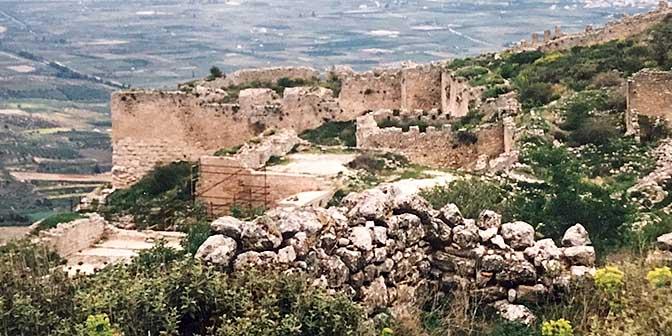 akrokopolis peloponnesos griekenland