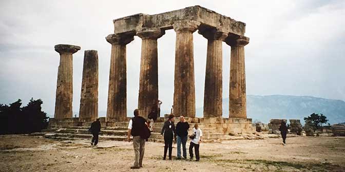 tempel apollo korinthe