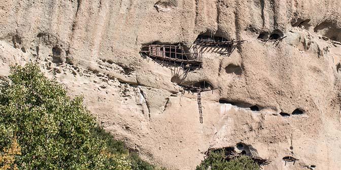 verlaten kloosters meteora