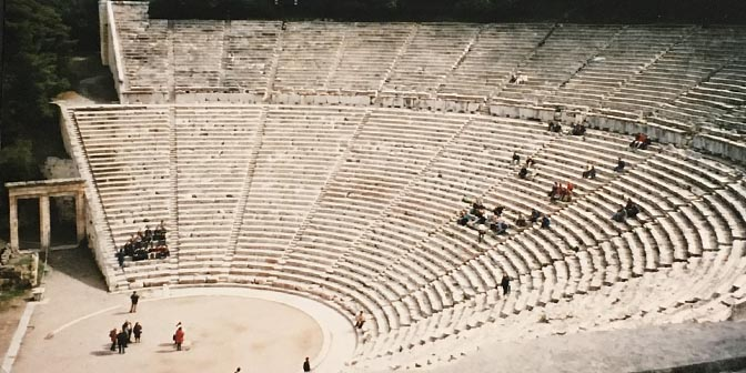 amfitheater epidaurus