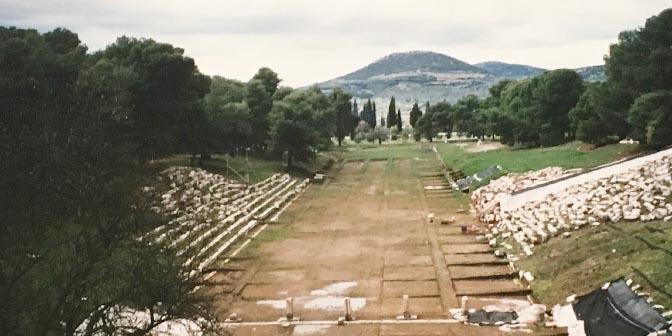 oudheden epidaurus griekland