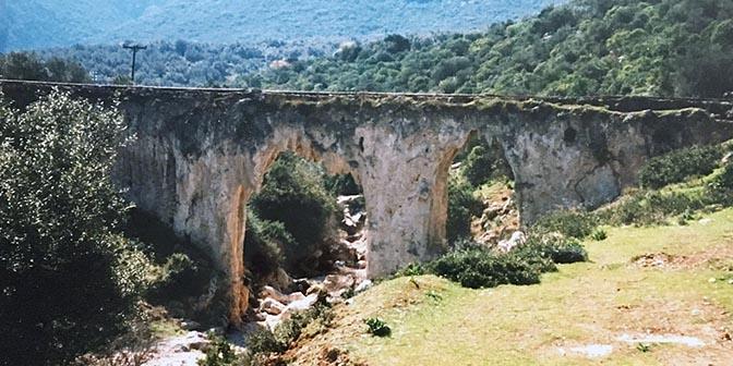aquaduct peloponnesos