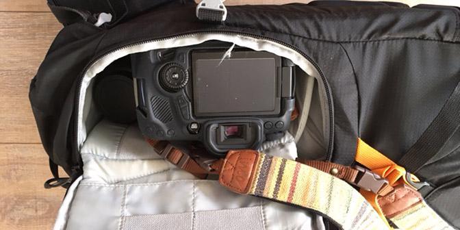 LowePro Photo Sport camera