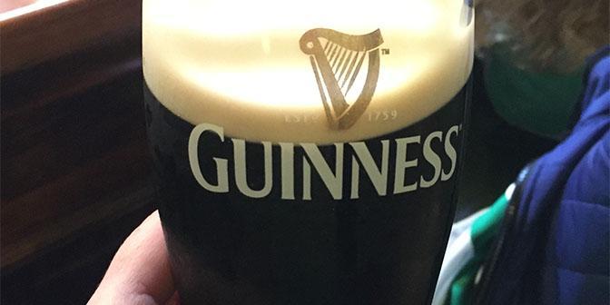 guinnes ierse pub