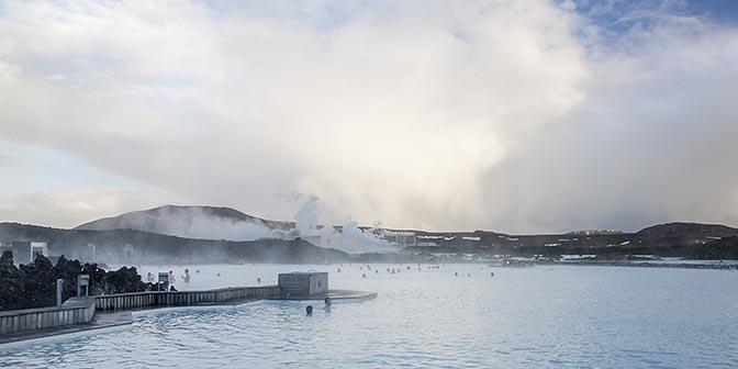 hotspring blue lagoon ijsland