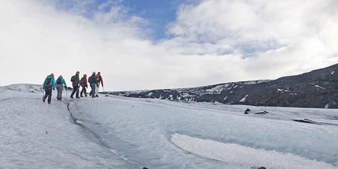 gletsjerwandeling solheimajokull ijsland