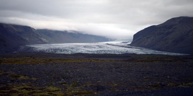 ijsland gletsjerr