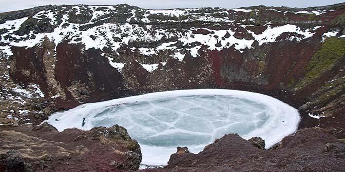 kerid vulkaan ijsland