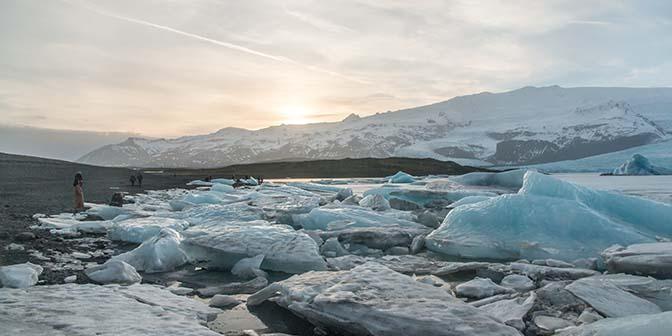 fjallsarlon gletsjer ijsland