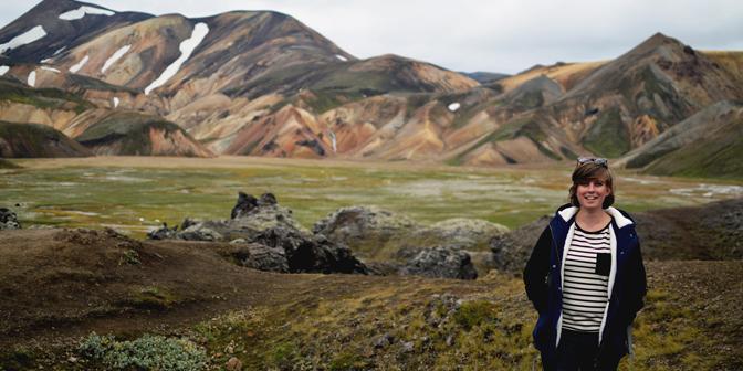 landmannalaugar ijsland