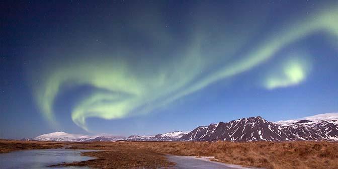 noorderlicht ijsland beste plaats