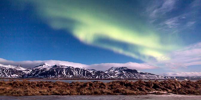 ijsland reizen noorderlicht