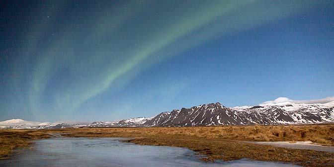 noorderlicht zien Snæfellsnes