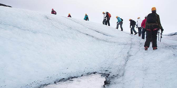 gletsjer ijsland