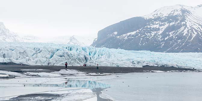 skaftafellsjökull gletsjerwandeling