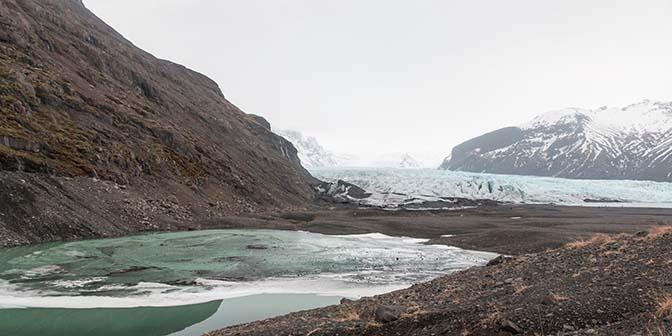 gletsjermeer ijsmeer Skaftafellsjökull