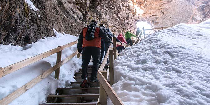 rondleiding vidgelmir grot