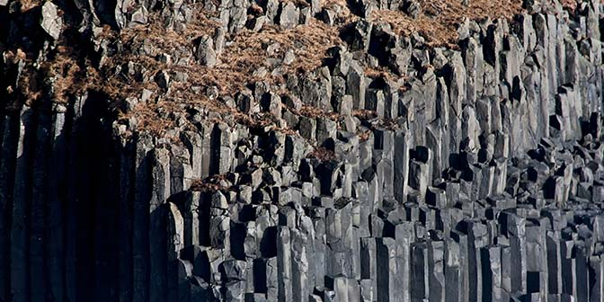 zwart basalt vik