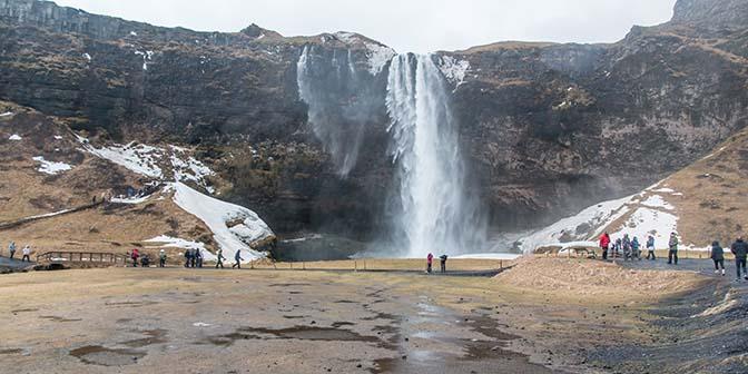 seljalfoss zuiden ijsland