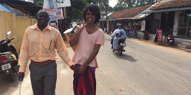 blind vrijwilligerswerk india