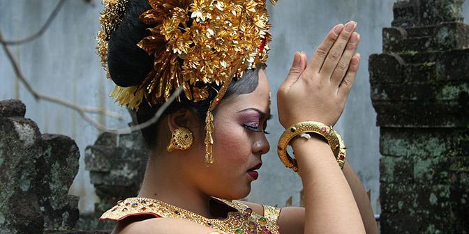 bruid bali indonesie