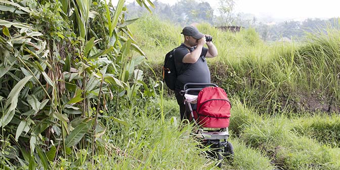 kinderwagen bali baby indonesie