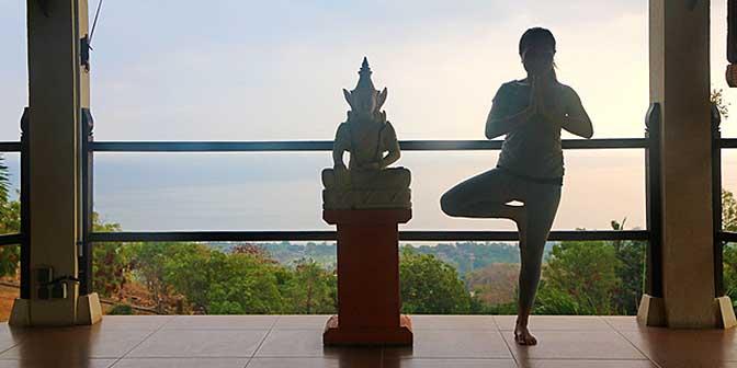 yoga bali indonesie