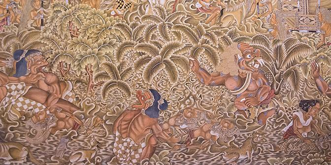 balinese schilderkunst