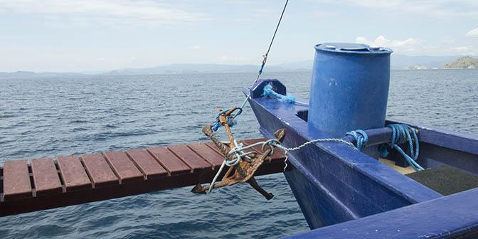 duiken boot komodo