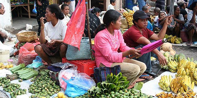 markt bajawa flores