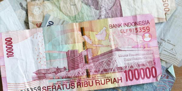 in indonesie betaalt men met de rupiah