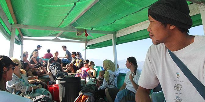 public boat gili lombok