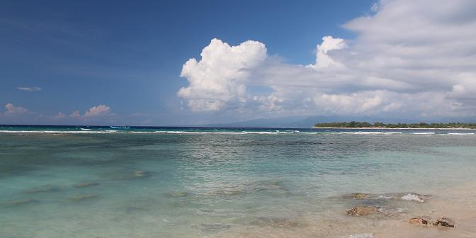 strand gili indonesie