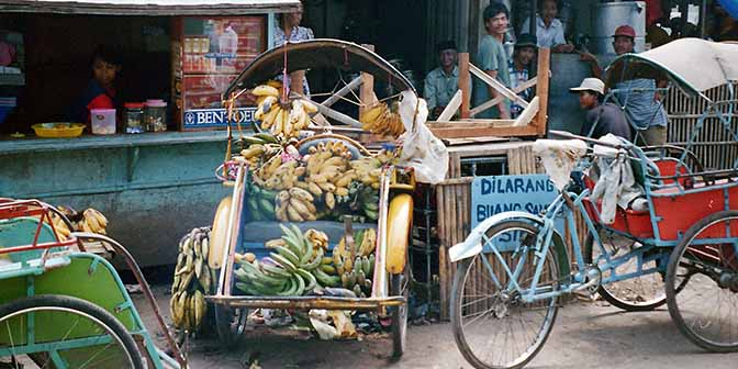 becak op java