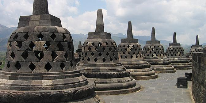 borobudur indonesie java