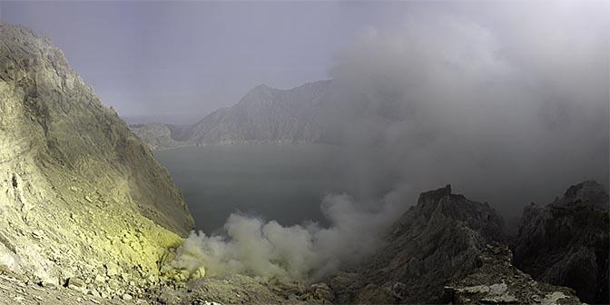 ijen kratermeer indonesie