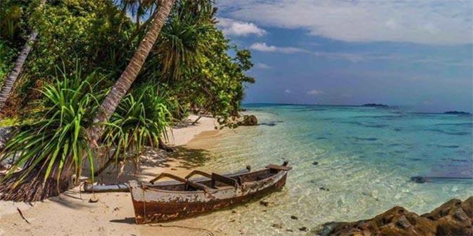karimunjawa strand java indonesie