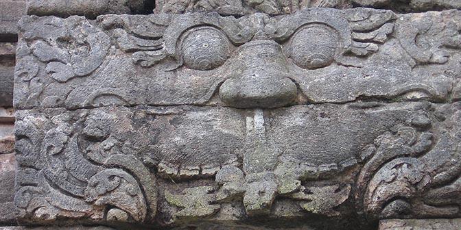 muurrelief tempel yogya