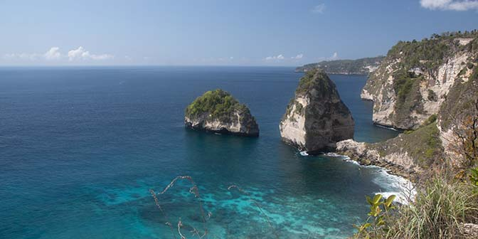 atuh beach penida island